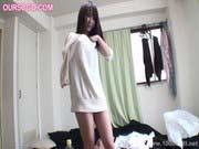 「無修正素人娘にメイド服を着せてハメ撮りセックス」のサムネイル画像