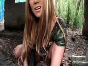 「黒ギャルコマンドーの手コキ尋問ERIKA」のサムネイル画像