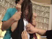 「中出しミニサイズのグラビアアイドルをコスプレ輪姦中出し!美咲恋」のサムネイル画像