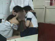 「キセルした女子校生にお仕置き3Pレイプ」のサムネイル画像
